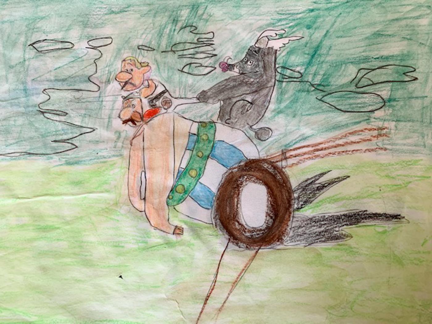 asterix et obelix le domaine des dieux