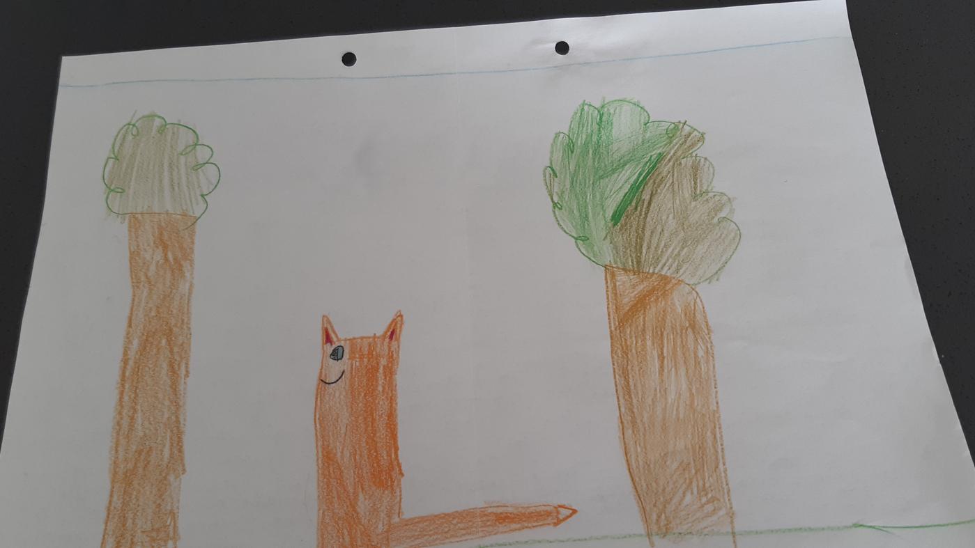 la volpe e la bambina