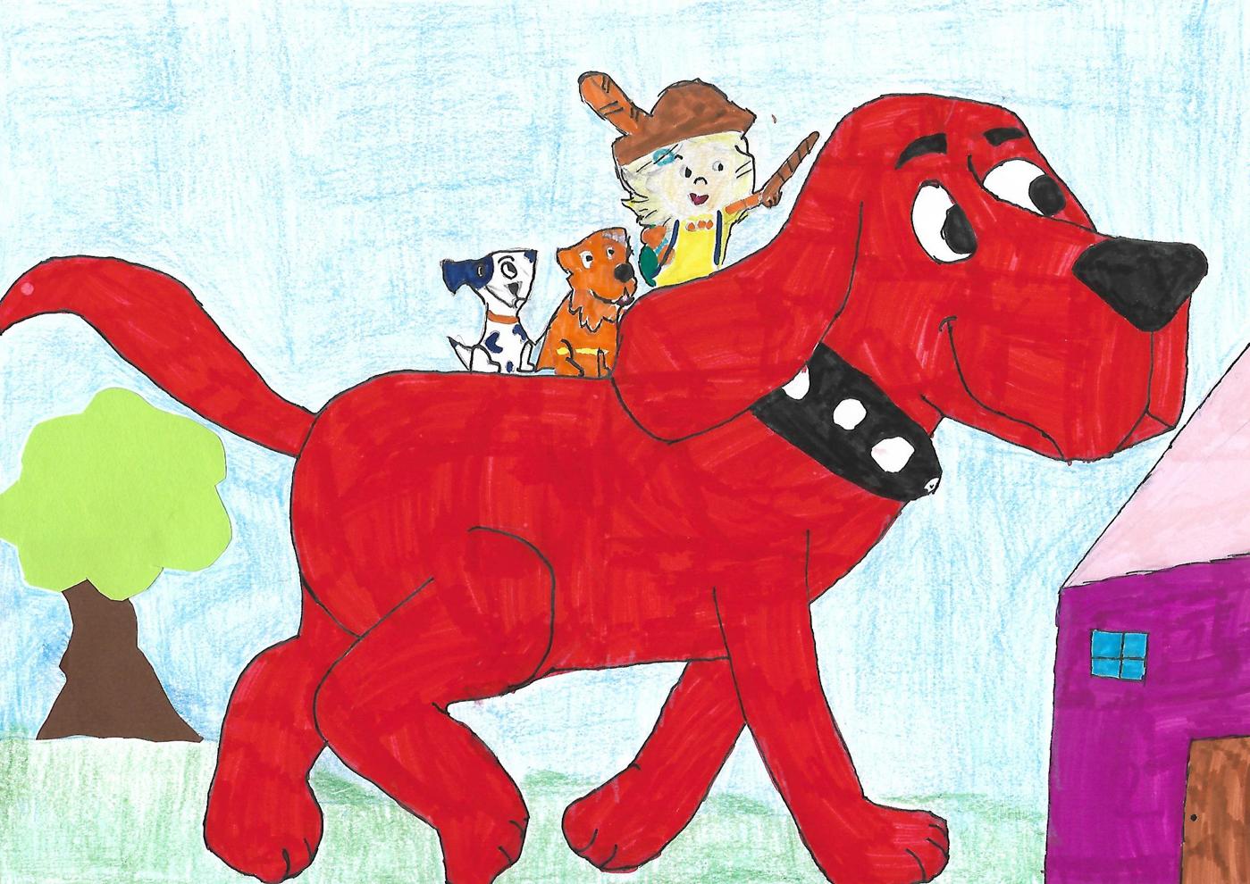 clifford le grand chien rouge